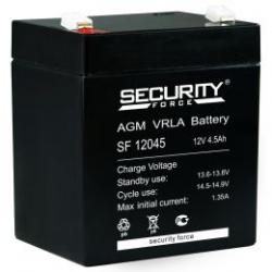 Аккумулятор 12В 4.5 А∙ч SF 12045  (Подходит для эхолотов и компьютерных бесперебойников)