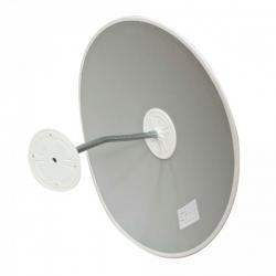 Обзорное зеркало безопасности, диаметр 430 мм, белый кант