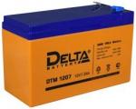 Аккумулятор 12В 7 А∙ч DTM 1207  (Подходит для эхолотов и компьютерных бесперебойников)
