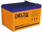 Аккумулятор 12В 12 А∙ч DTM 1212  (Подходит для эхолотов и компьютерных бесперебойников)
