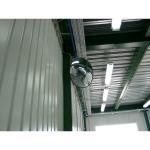 Обзорное зеркало безопасности, диаметр 510 мм, чёрный кант