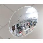 Обзорное зеркало безопасности, диаметр 805 мм, белый кант