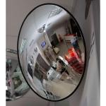Обзорное зеркало безопасности, диаметр 805 мм, чёрный кант