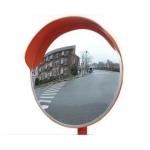Зеркало дорожное с козырьком, диаметр 600 мм